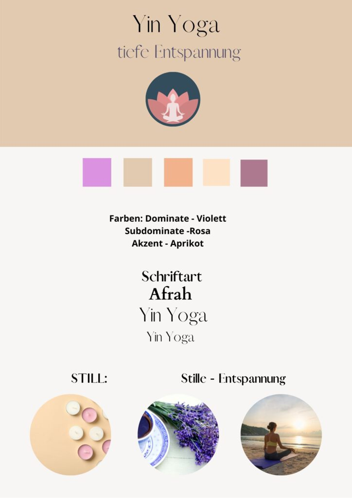 Yoga Marken Farben